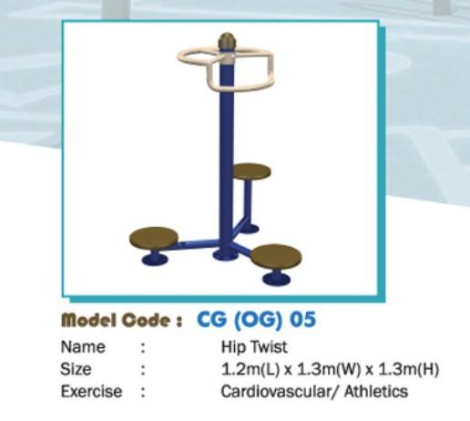 Thiết bị tập thể dục - WINFIT-MC-CG-OG-05