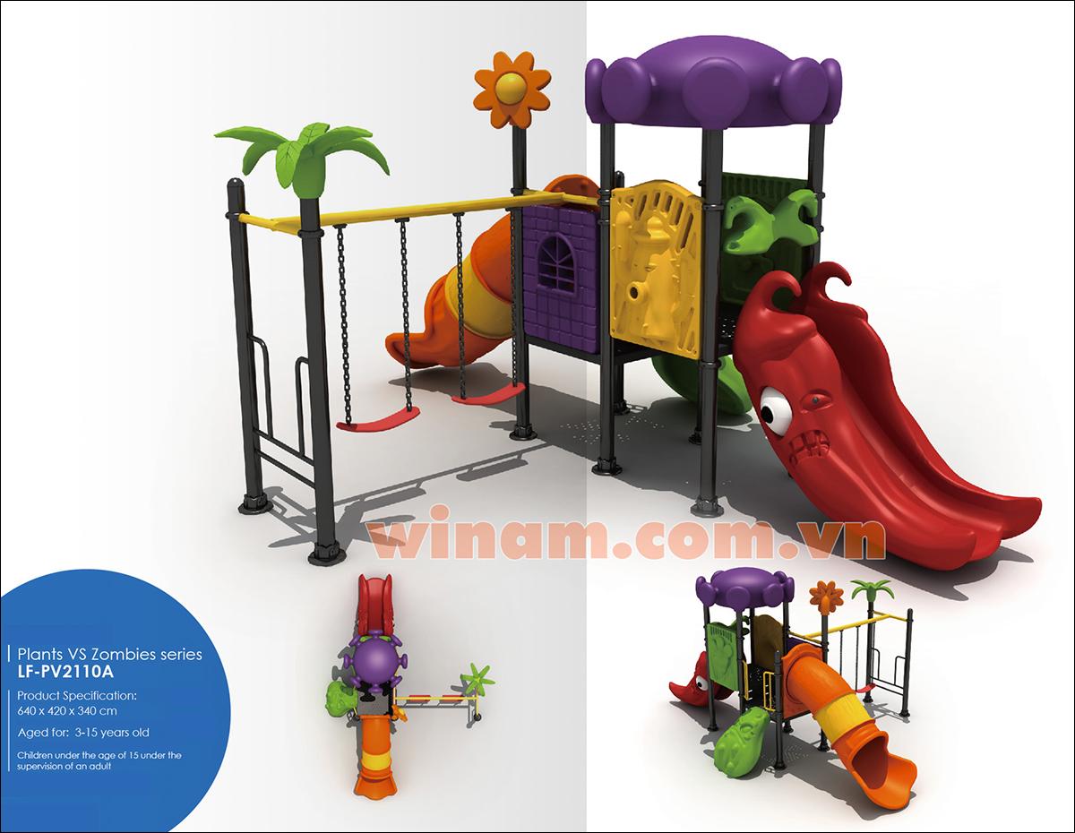 Thiết bị vui chơi ngoài trời - Play-LF-PV2110A