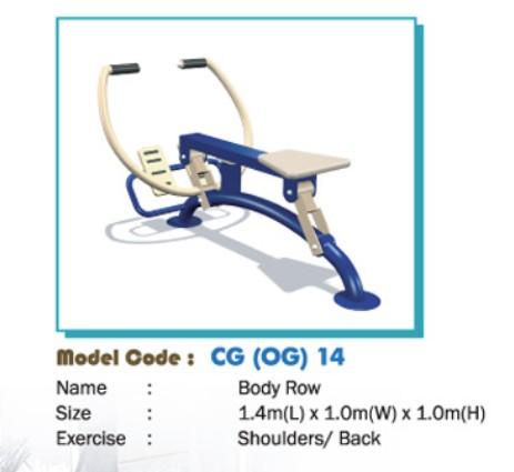 Thiết bị tập thể dục - WINFIT-MC-CG-OG-14